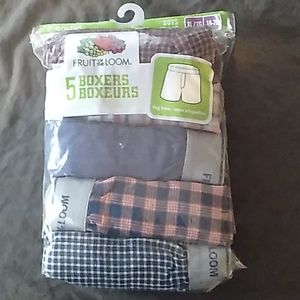 Fruit of the loom, 5 boxers XL, tag free